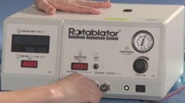 Watch how to set up the Peripheral Rotablator System