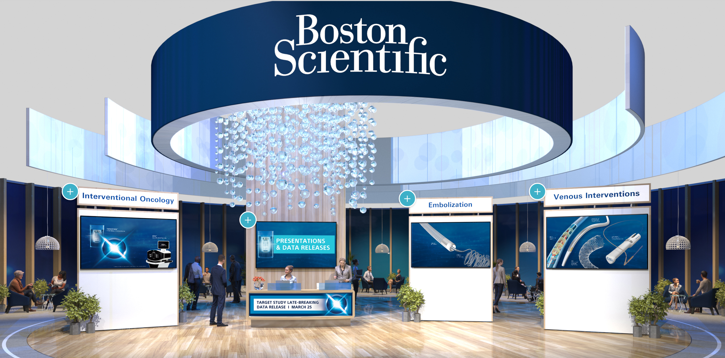 Boston Scientific's Booth at SIR - image.