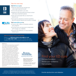 ED and Diabetes Brochure