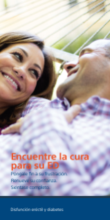 ED and Diabetes Brochure - Spanish