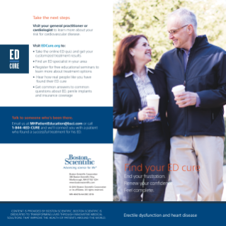 ED and CVD Brochure