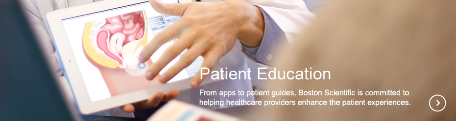 Patient Education, From apps to patient guides, Boston Scientific is committed to helping healthcare providers enhance the patient experiences.