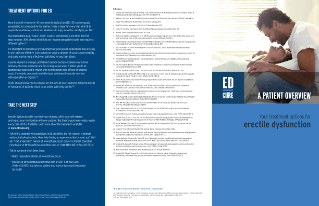 ED Treatment Options Brochure