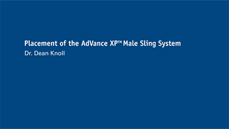 AdVance XP  Surgical Video