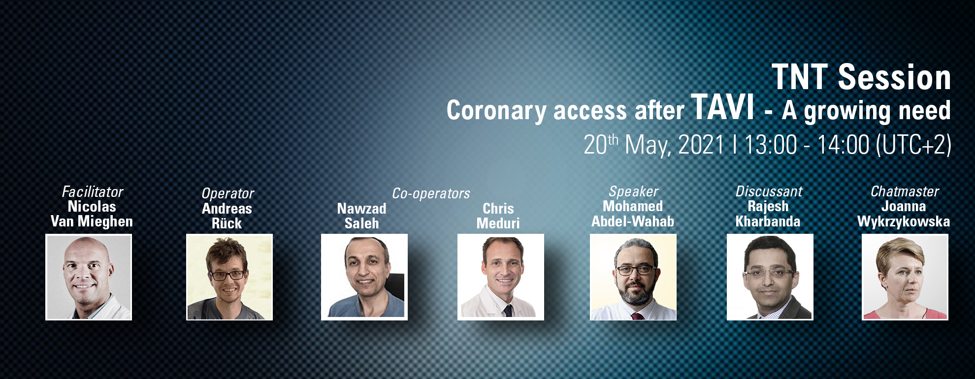 TNT Session - Coronary access after TAVI