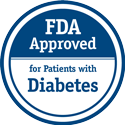 FDA Approved for Patients with Diabetes