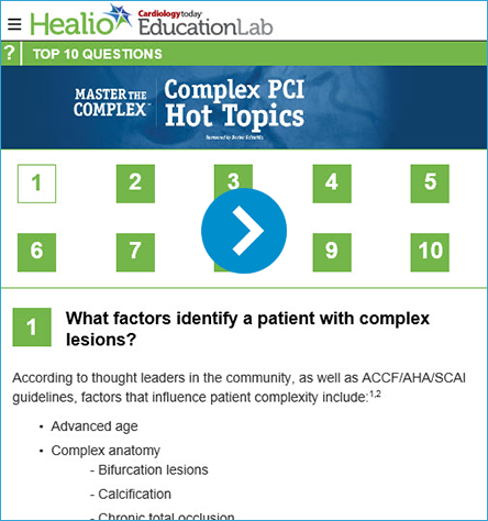 Complex PCI Hot Topics