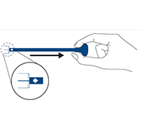 The pull-grip deployment system on the Eluvia Drug-Eluting Stent System