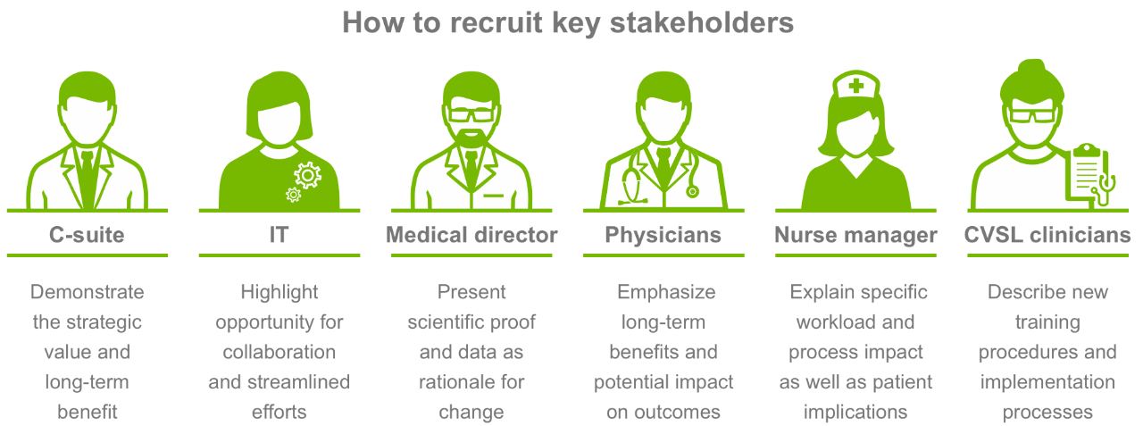 How to recruit key stakeholders