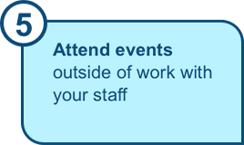 Attend events