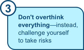 Don't overthink everything