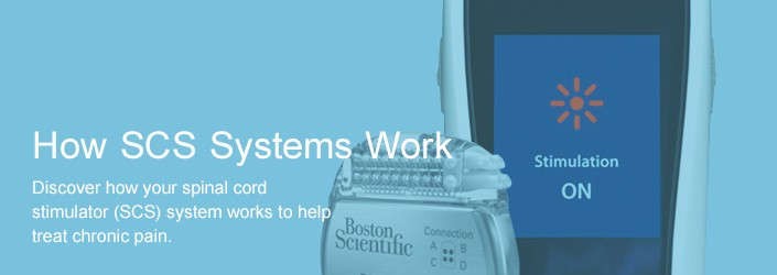 How SCS Systems Work - Discover how your spinal cord stimulator (SCS) system works to help treat chronic pain.