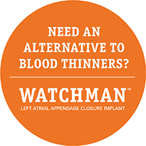 Need an alternative to blood thinners? WATCHMAN Left Atrial Appendage Closure Implant