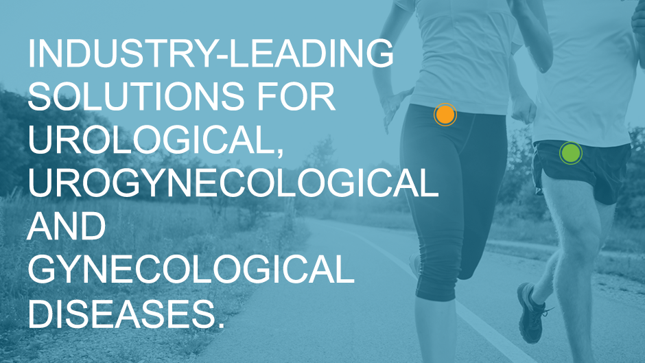 Industry-leading solutions for urological, urogynecological and gynecological diseases.