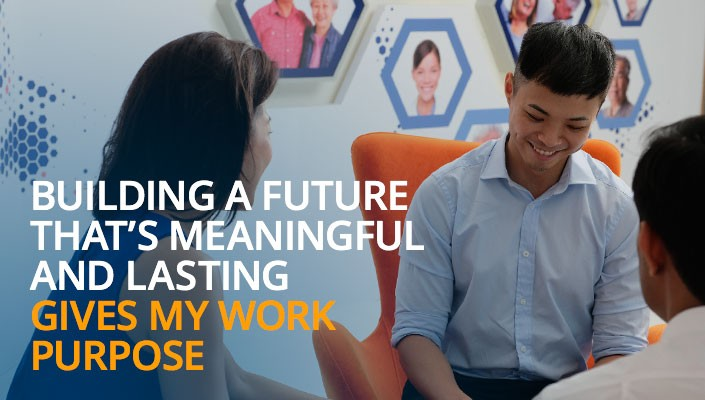 Building a future that's meaningful and lasting gives my work purpose.