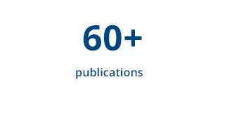 60+ publications