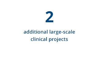 2 additional large-scale clinical projects