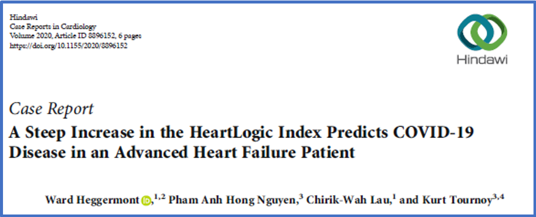 Covid-19 in HeartLogic patient