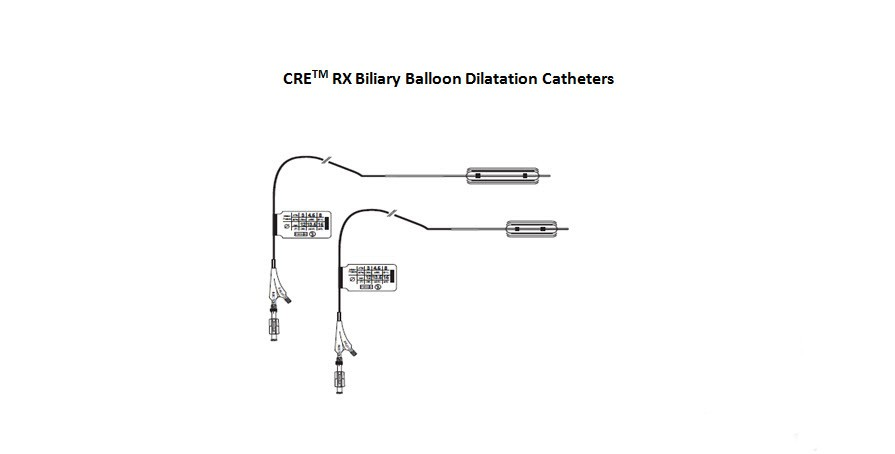 CRE RX Biliary Balloon Dilation Catheters