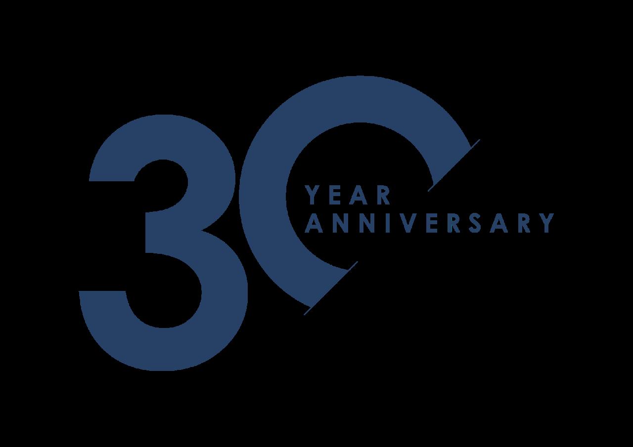 30 years logo