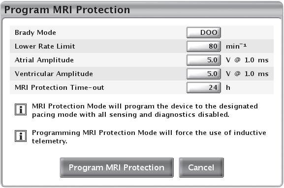 Automatic MRI Timeout