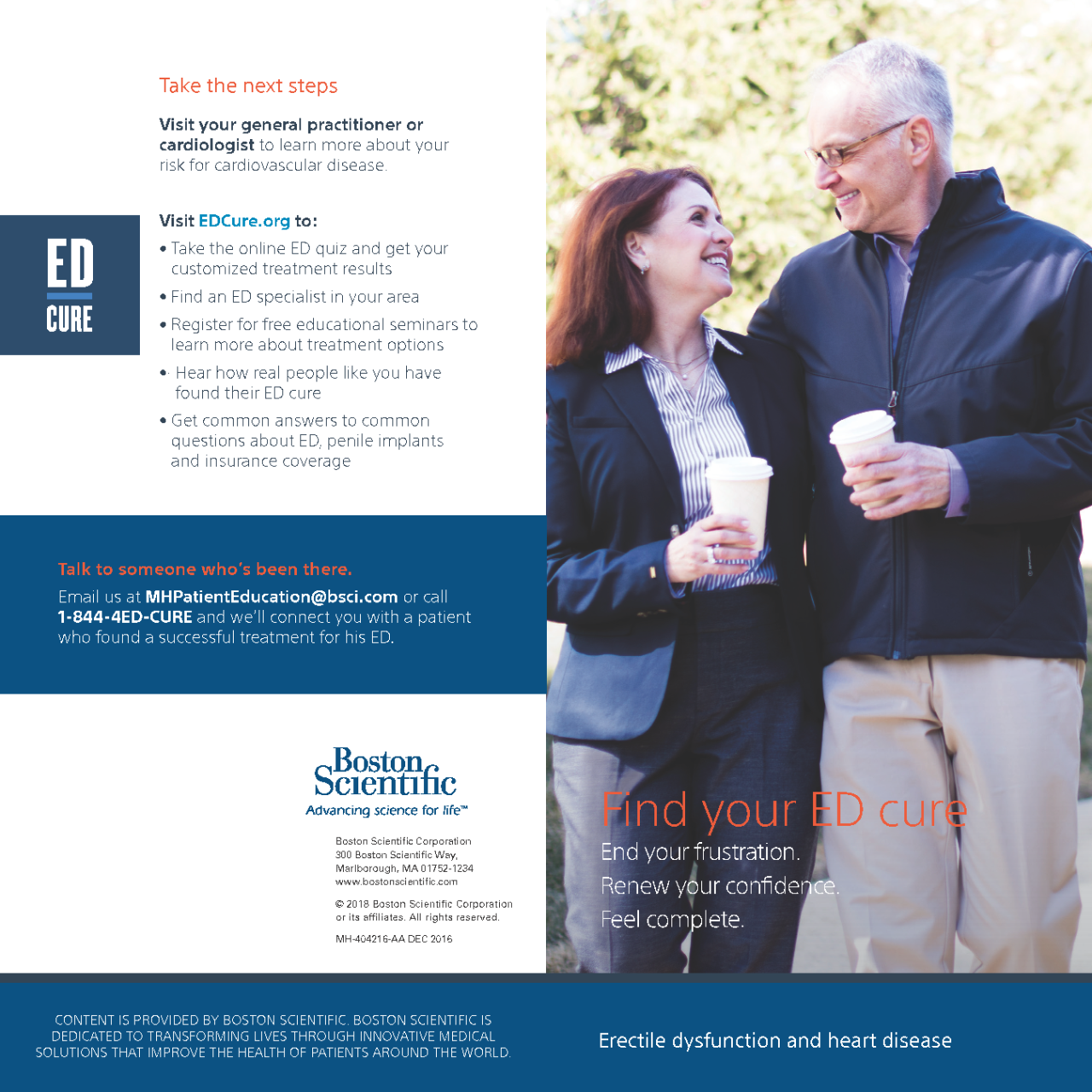 ED and CVD Brochure