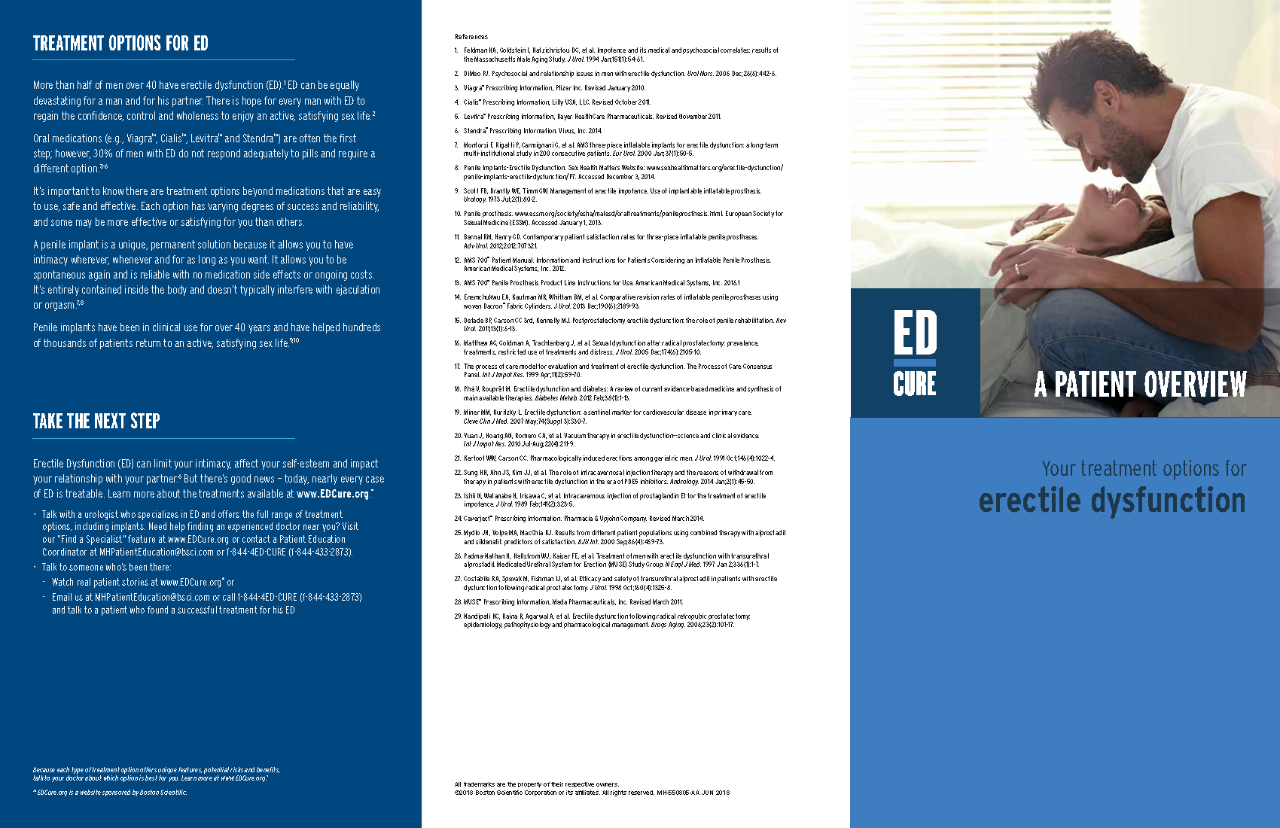 ED Treatment Options Brochure