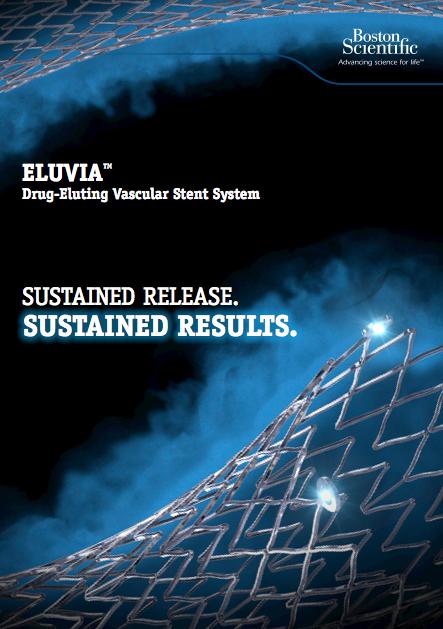 eluvia u2122 drug-eluting vascular stent system