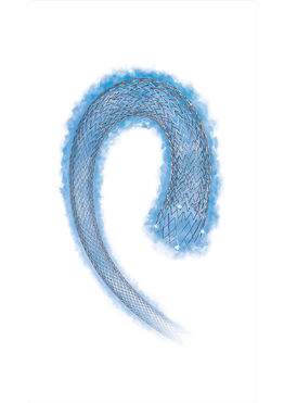 Eluvia Drug-Eluting Stent System image on white