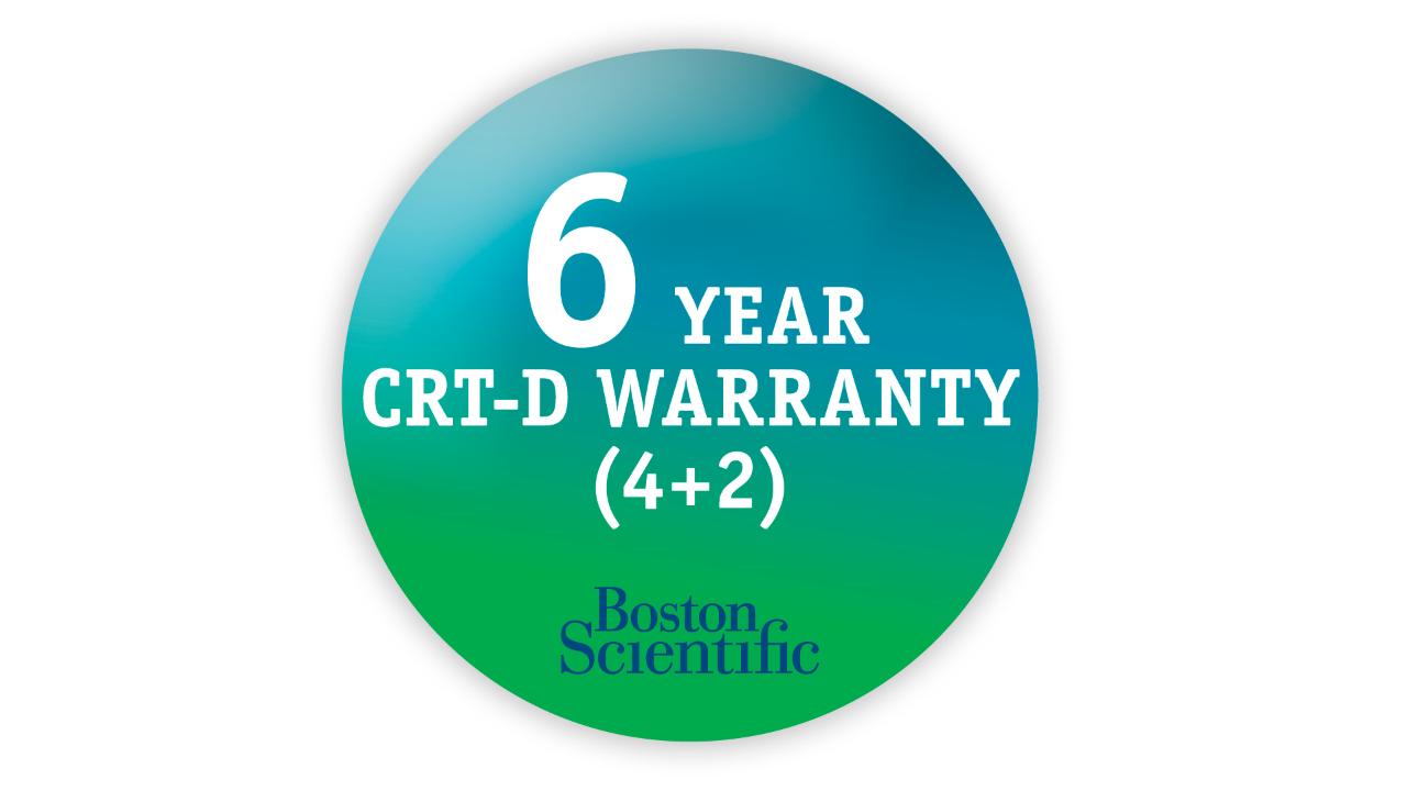 6 year CRT-D Warranty