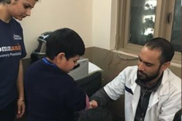 A vascular physician