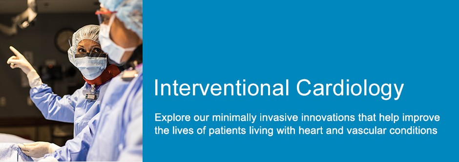 Click to link to Interventional Cardiology page - icon with 60 cardiovascular disease solutions