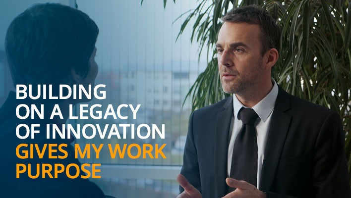 Building a legacy of innovation gives my work purpose.