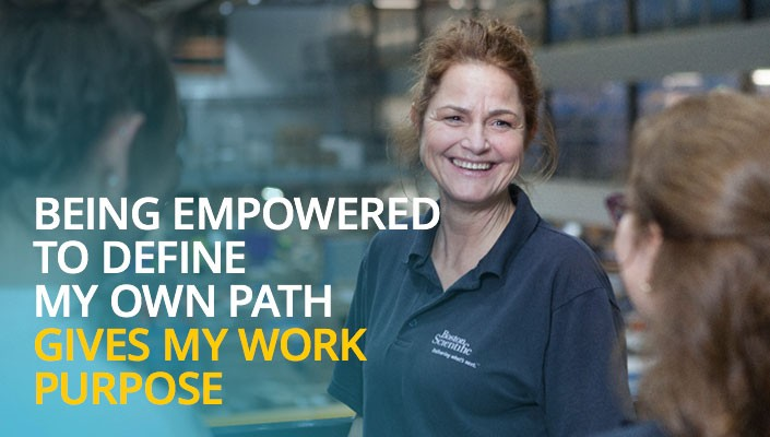 Being empowered to define my own path gives my work purpose