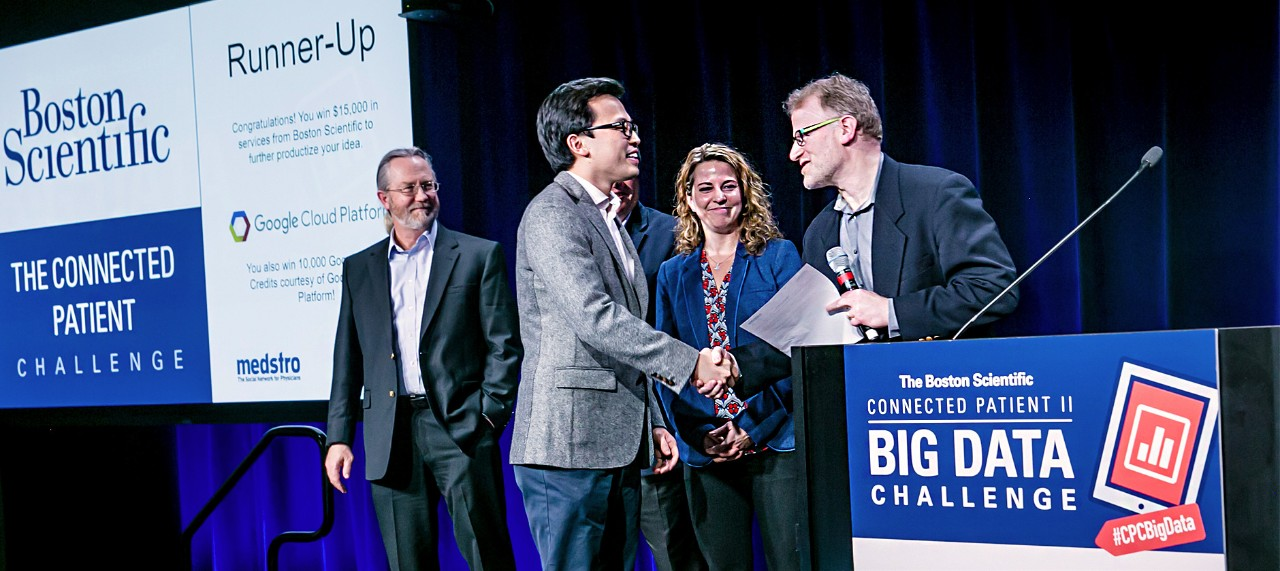 photo of runner up for big data challenge