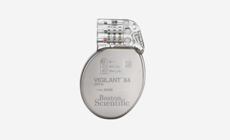 VIGILANT X4 CRT-D from Boston Scientific