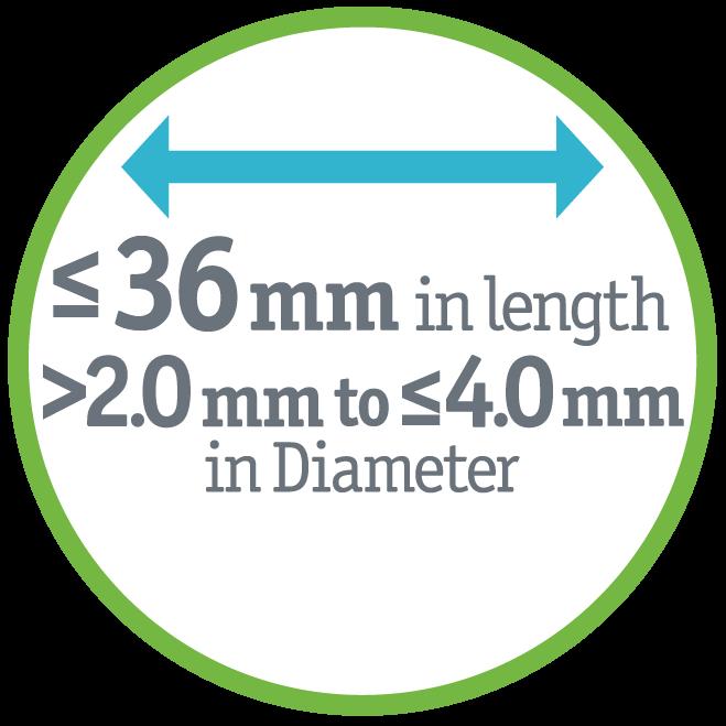 AGENT Diameter - 26mm length/2.0->4.0mm Diameter