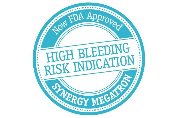 High Bleeding Risk Indication stamp