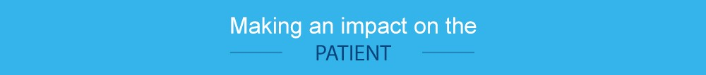 Making an impact on the patient