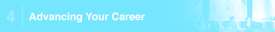 4 | Advancing Your Career