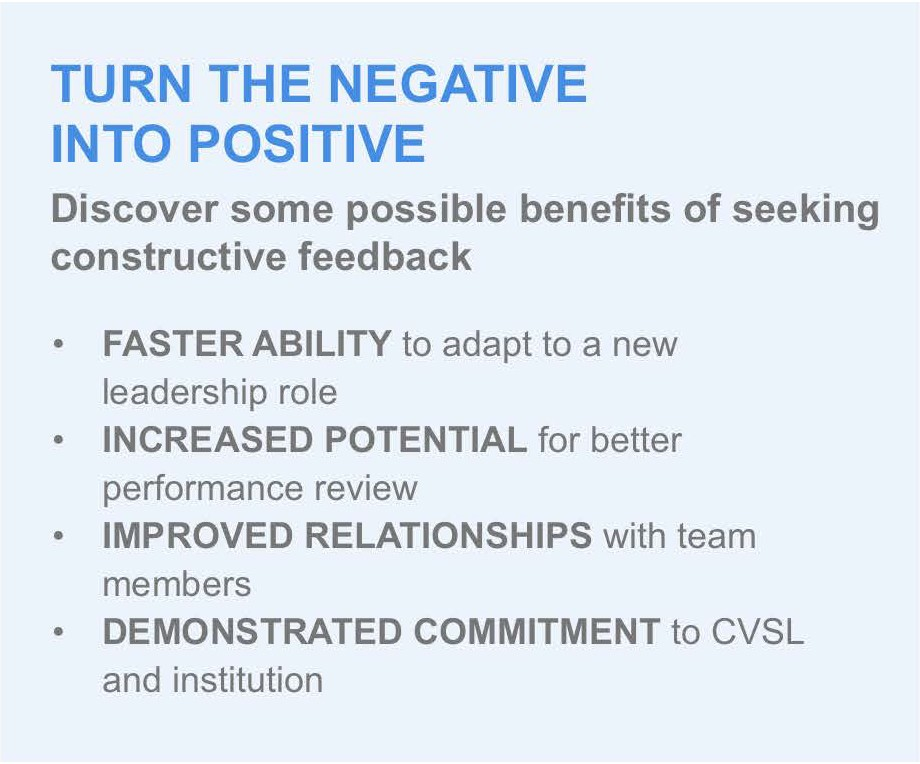 Turn the negative into positive