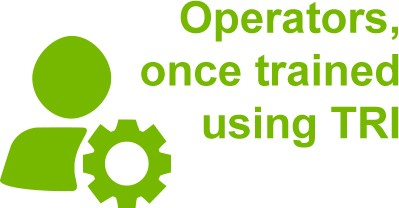 Operators, once trained using TRI