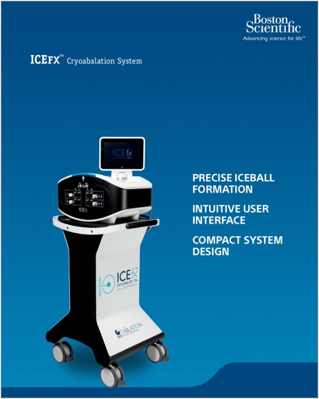 ICEFX™ CRYOABLATION SYSTEM Product Brochure.