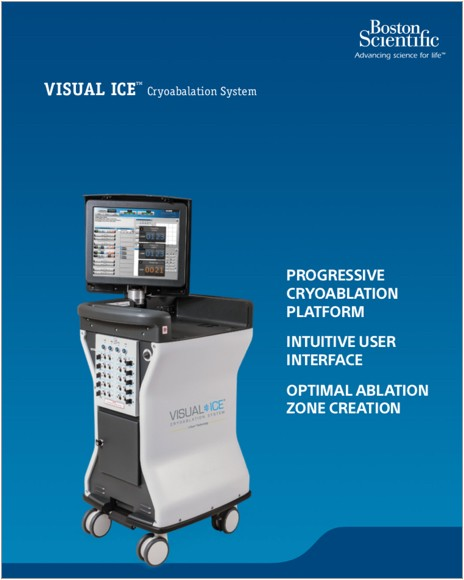 VISUAL ICE ™ CRYOABLATION SYSTEM Product Brochure.