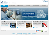 Neuromodulation Learning Institute website