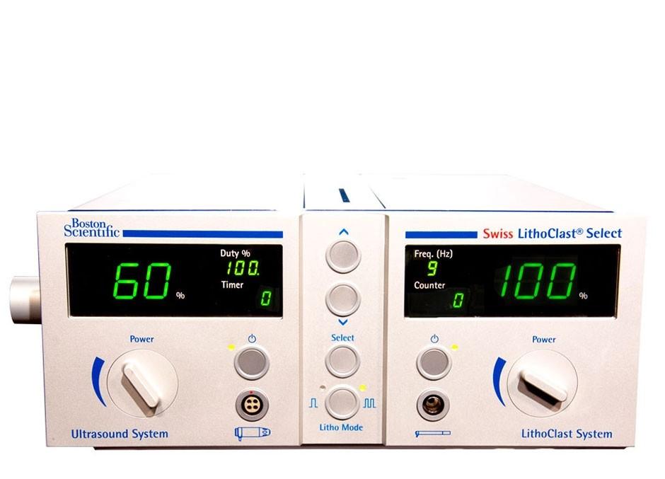 Swiss LithoClast™ Select Lithotriptor on white background
