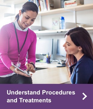 Understand Procedures and Treatments