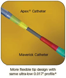 Apex flexible tip design.