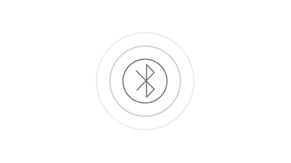 Bluetooth icon.