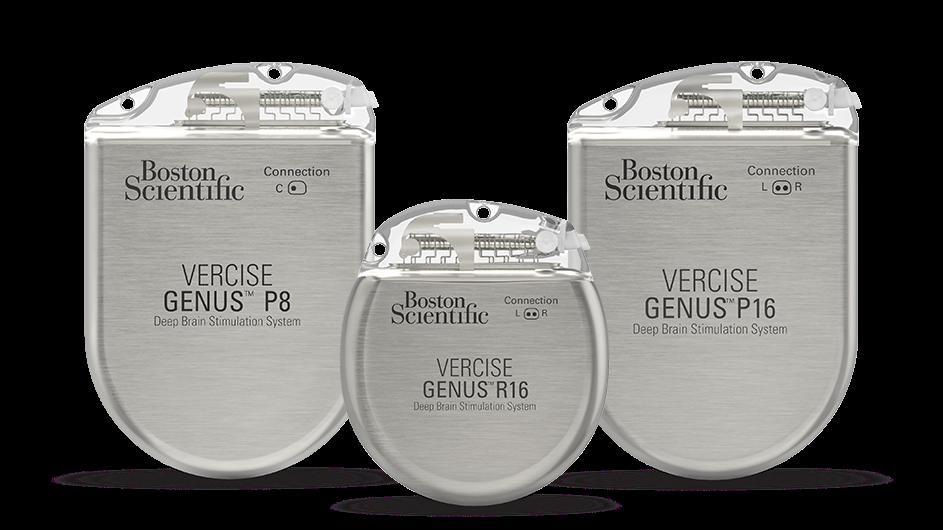Vercise Genus DBS System P8 IPG, Vercise Genus DBS System R16 IPG and Vercise Genus DBS System P16 IPG.